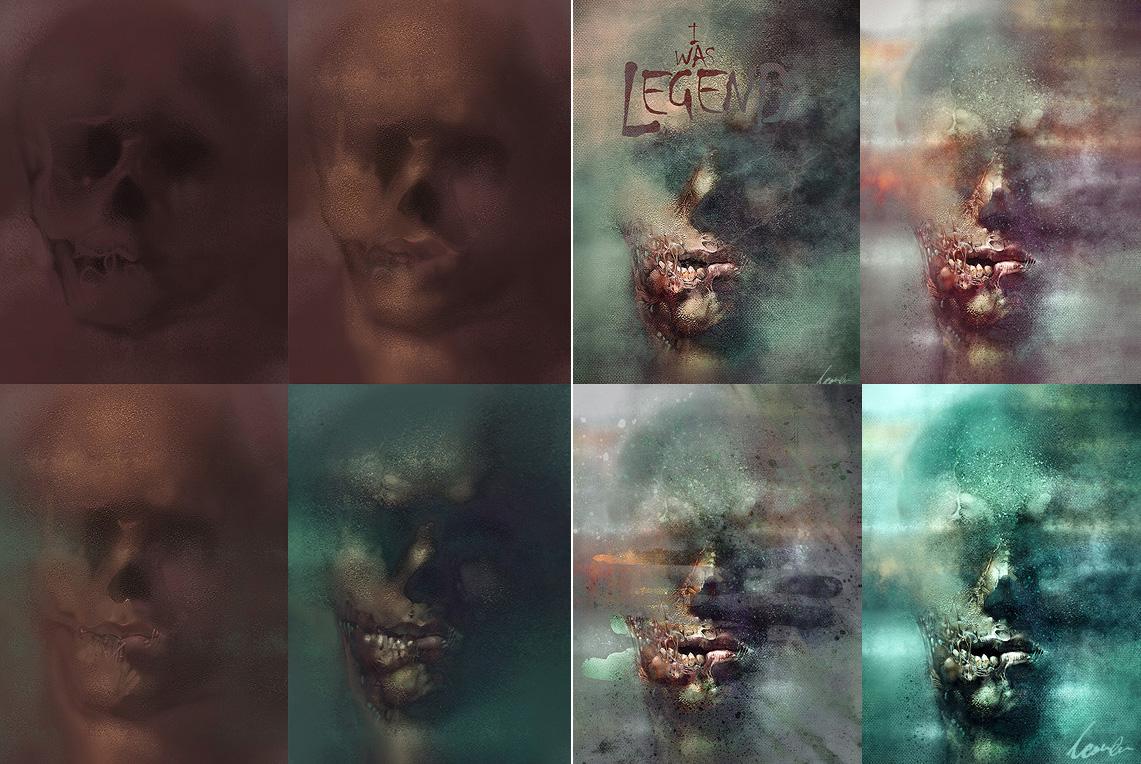 zombie szkice speed painting Szkodzi�ski Tomasz