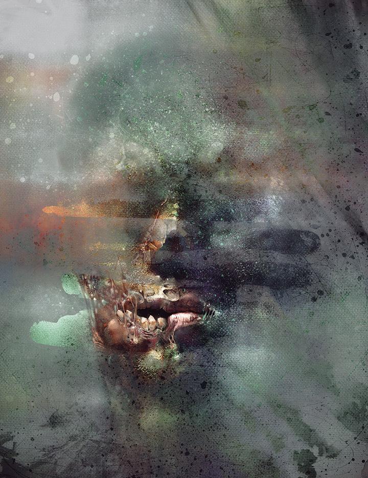 zombie speed painting Szkodzinski Tomek